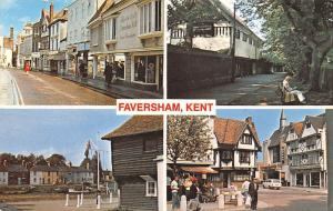 Kent Faversham Swale market town multiviews 1984