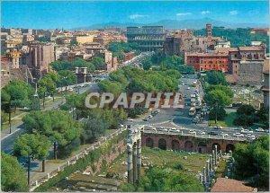Postcard Modern Roma dei Fori Imperiali