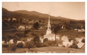 Aerial View of Concord , Vermont ,  RPC