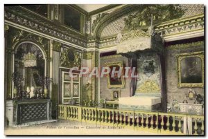 Old Postcard Palace of Versailles Room of Louis XIV