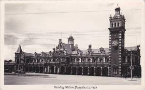 RP, Railway Station, Dunedin New Zealand, 1920-1940s