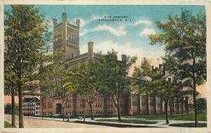 Providence Rhode Island~The National Guard Armory 1920s