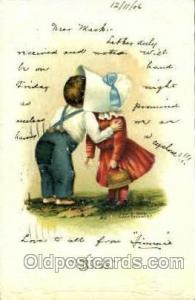 Richard Behrendt. S.F. Sun Bonnet, Bonnets Postcard Post Card Old Vintage Ant...