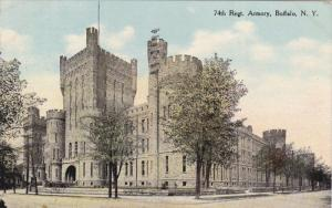 74th Regt. Armory, BUFFALO, New York, PU-1910
