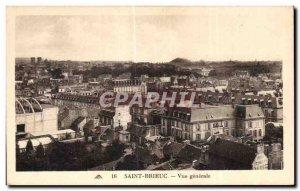 Postcard Old Saint Brieuc General view
