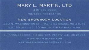 Mary Martin Postcards