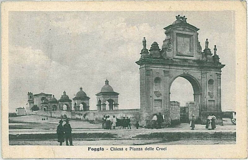 CARTOLINA d'Epoca - FOGGIA Citta' - 1918