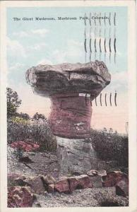 Colorado Mushroom Park The Giant Mushroom 1924