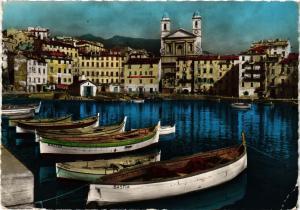 CPM CORSE- Bastia- Eglise St Jean et le vieux port. (710923)