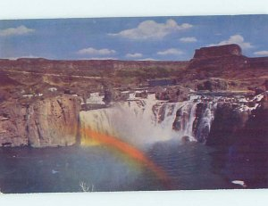 Chrome WATERFALL SCENE Twin Falls Idaho ID AG3785@