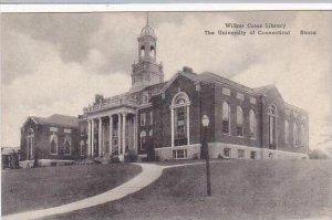 Connecticut Storrs Wilbur Cross Library Univ Of Conn Albertype
