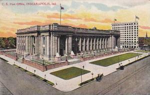 Exterior, U.S. Post Office,  Indianapolis, Indiana,  PU-1907