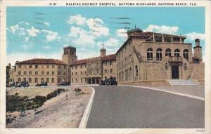 Halifax District Hospital Hospital Daytona Highlands Daytona Beach Florida 1931