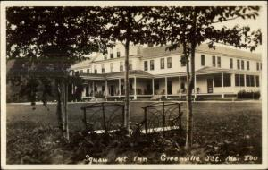 Greenville Junction ME Squaw Mountain Inn Real Photo Postcard c1920s-30s