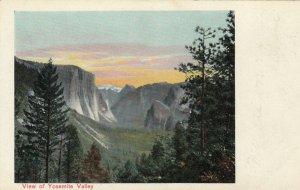CALIFORNIA, 1900-10s; View of Yosemite Valley