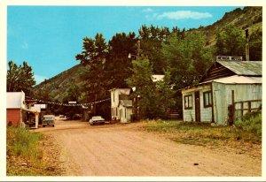 Nevada Jarbridge Ghost Town In Repose