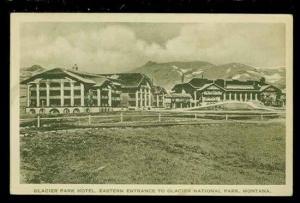MT, Glacier National Park, Montana, Glacier Park Hotel, Eastern Entrance