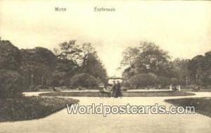 Metz Germany, Deutschland Postcard Esplanade  Esplanade
