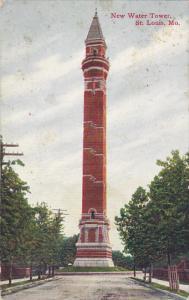 Missouri Saint Louis New Water Tower 1909