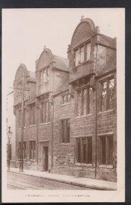 Northamptonshire Postcard - Cromwell House, Northampton  RT581