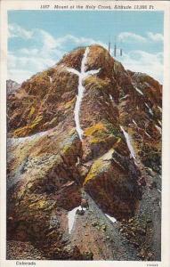 Colorado Denver Mount Of The Holy Cross Altitude 13996 Feet 1939