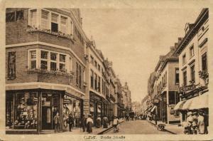 germany, CLEVE KLEVE, Grosse Strasse, Jewish Store Rosenberg (1922) JUDAICA