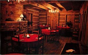 Grantsville Maryland~Penn Alps Dunbar Room~Round Tables~Rustic Decor~1960s