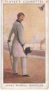 Cigarette Card Player's Dandies No 48 James McNeill Whistler