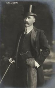 Earl Elemér, Prince Lónyay de Nagy-Lónya, Hungary (1910s) RPPC