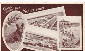 4-Views, Good Luck from Southport, England, UK, PU-1949