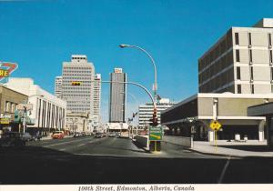 100th Street , EDMONTON , Alberta, Canada , 60-80s