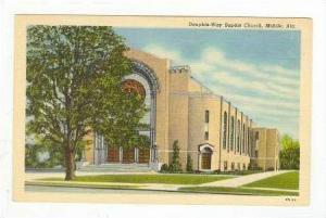 Dauphin-Way Baptist Church, Mobile, Alabama, 30-40s