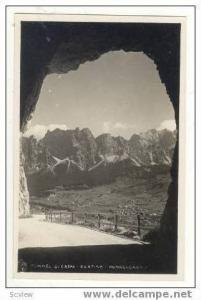 RP Tunnel di Crepa-Cortina-Pomagagnon,Italy, 1920-30s