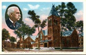 Maine Portland The Williston Church Birthplace Of The Christian Endeavor