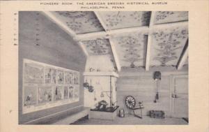 Pennsylvania Philadelphia Pioneers' Room The American Swedish Historical Muse...