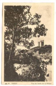 Vue Des Bords De La Drôme, Crest (Drôme), France, 1900-1910s