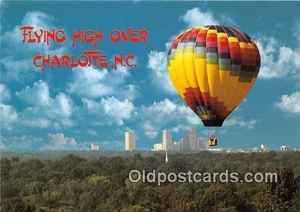 Flying High Modern Card - Charlotte, NC, USA Unused