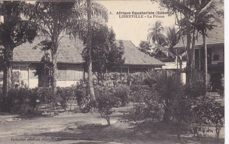 GABON , 00-10s : Libreville , La Prison