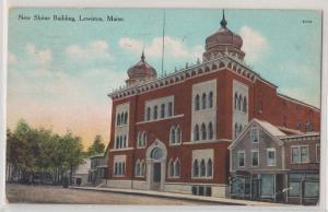 New Shrine Building, Lewiston ME
