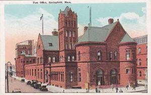 Exterior, Post Office, Springfield, Massachusetts,  00-10s