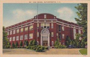 North Carolina Rutherfordton High School Albertype