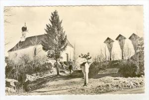RP  St. Antoni-Kapelle am kleinen Pfahl bei Viechtach, Germany , 40-60s