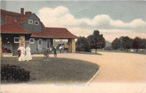 B44/ Toledo Ohio Postcard Lucas County 1912 Ottawa Park People Building
