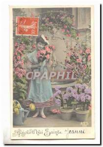 Old Postcard Fancy Today & # 39hui Saint Jeanne First names