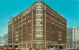 Postcard Plankinton House, Milwaukee, WI
