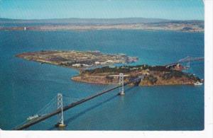 California San Francisco Aerial View Treasure Island