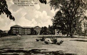 MA - East Northfield. Northfield School for Girls, Gould Hall