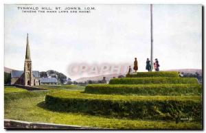 Britain Tynwald Hill St John & # 39s Isle of Man (Manx Where the laws are made)