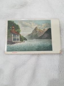 Antique Postcard entitled Tellsplatte, posted in 1900