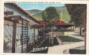 Cool Retreat , Gilman´s Relief Hot Springs , SAN JACINTO , California , 1910s